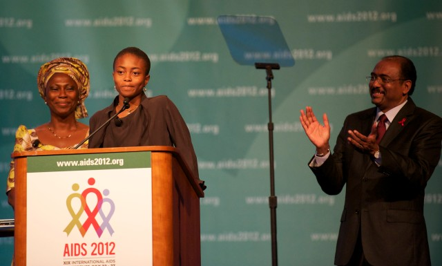 Michel Sidibé, the Executive Director of UNAIDS and Under Secretary-General of the United Nations, one of the featured speakers at the XIX International AIDS Conference in Washington, D.C. this week, is calling for an end to HIV transmission from mother-to-child, which continues to occur hundreds of thousands of times a year.